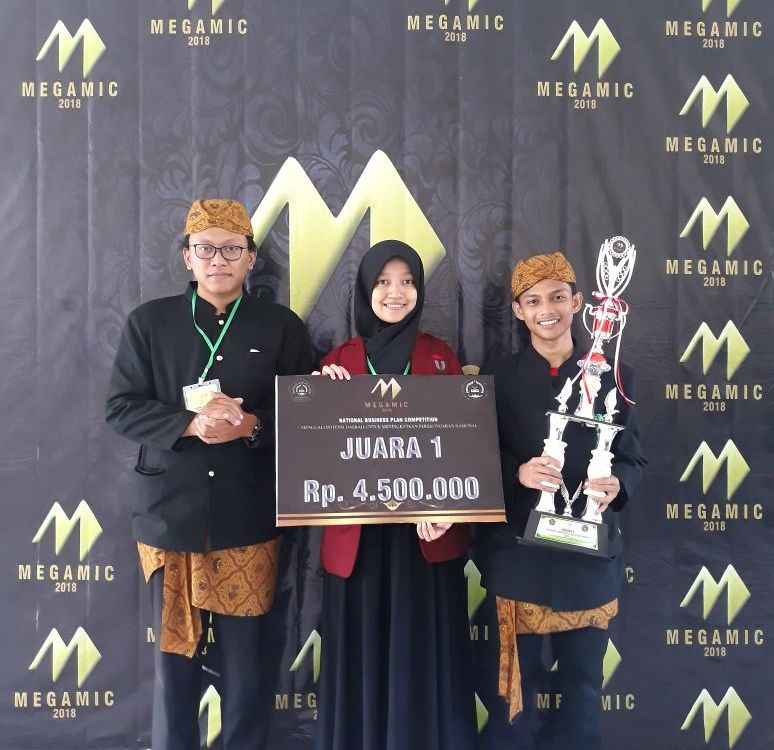 Telkom University Sabet Juara 1 Business Plan Competition Megamic 2018