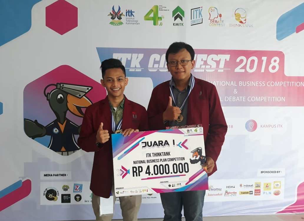 Mahasiswa Telkom University Rebut Juara di Think Tank National Business Plan Competition