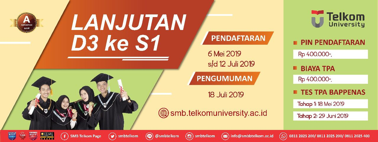 Program Lanjutan D3-S1 (Batch 1) 2019