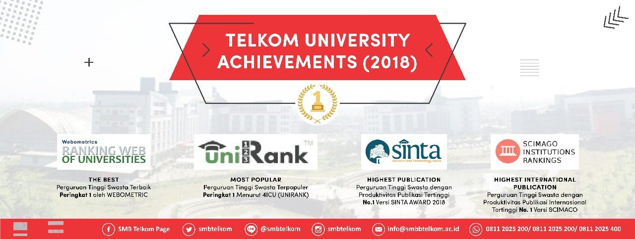 Telkom University Achievements