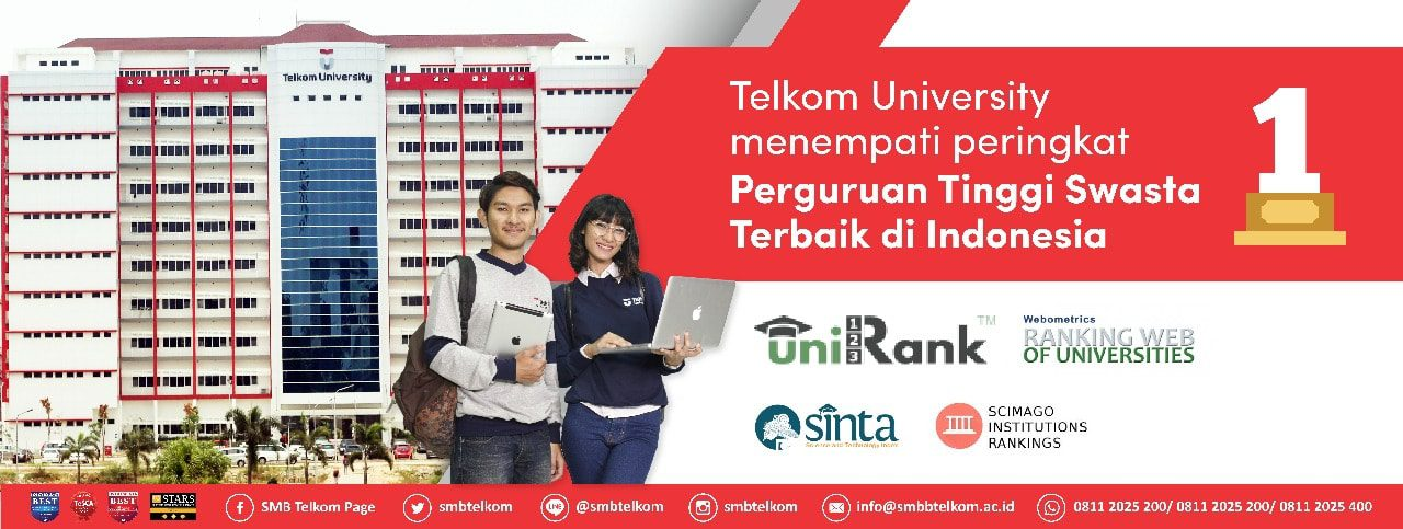 Telkom University PTS No 1 se-Indonesia