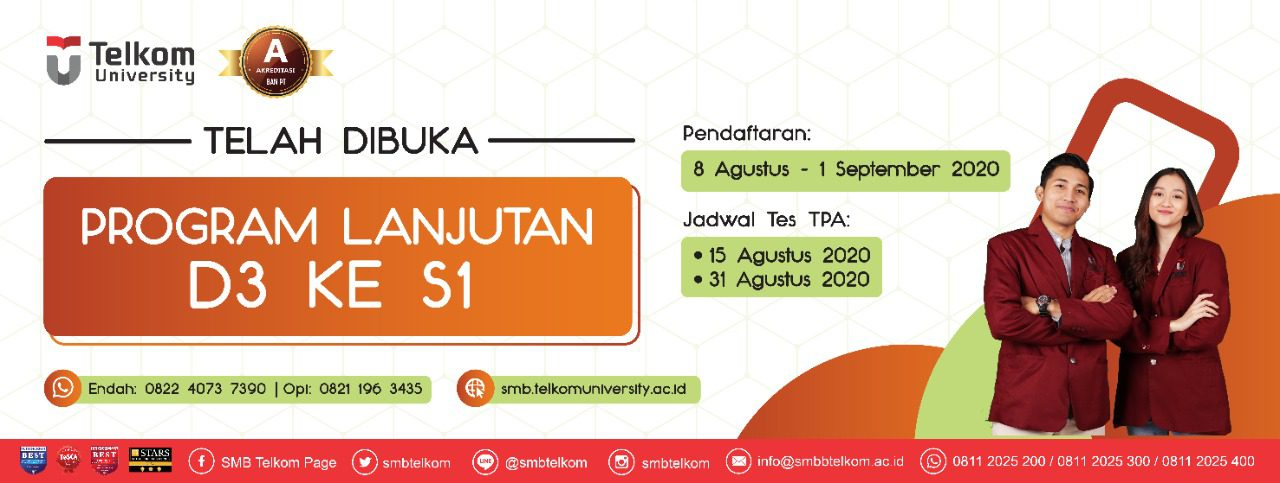 Program Lanjutan Batch 4 Telkom University 2020