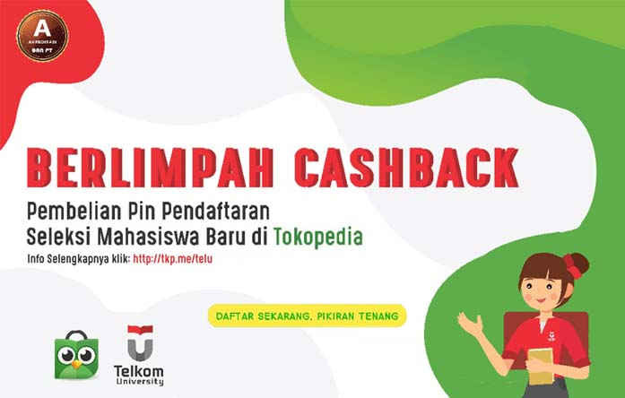 cashback-tokopedia-telkom-university